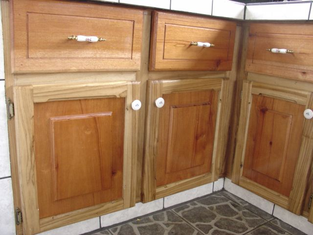 Tropical Hardwood Cabinetry ...